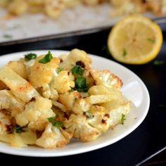 Oven Made Cauliflower stir fry HealthyAperture.com