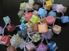 origami lanterns
