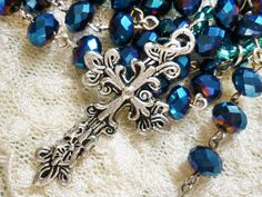 Celtic design Silver Cross large Pendant by GreenBohemia on Etsy, $3.00