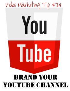 """Lou's Video Marketing Quick Tip #24    Brand Your YouTube Channel!    You can customize your YouTube channel to make it uniquely your own. This helps with your branding and consistency.  Even if you simply change the background of your YouTube channel to look like your website, you've already """"branded"""" your page to match your overall look. Get consistent and get branded!  Find more tips and resources at http://www.loubortone.com"""
