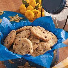Chocolate Chip Icebox Cookies Recipe