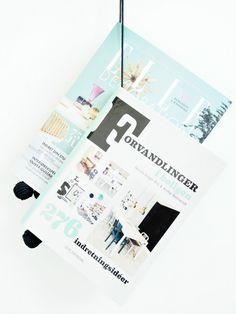 DIY Magazine Hanger - monsterscircus