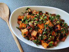 Herb & Ginger Roasted Sweet Potato