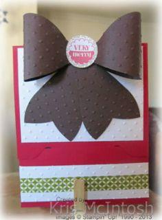Envelope Punch Board Gift Card Holders