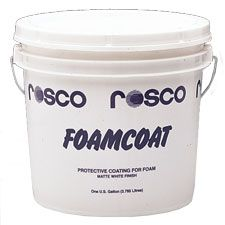 Product Love - FOAMCOAT: a non-toxic, water based coating for styrofoam and polystyrene foam, as well as other surfaces. It provides a hard, durable finish that resists chipping and cracking, yet can be sanded smooth or carved to add detailing.