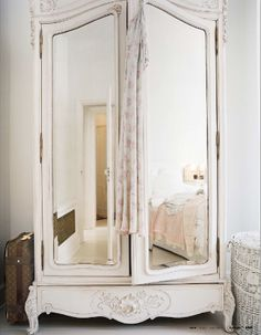 mirrored armoir. Images we like (NB. not a product of Chichi Furniture)