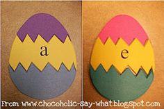 Easter Egg Sound Blending Activity