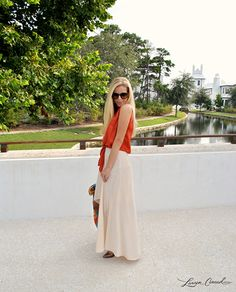 How to wear a high-low skirt