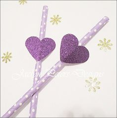 #Party #Straws #Purp
