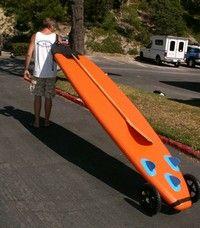 sup board bike carrier