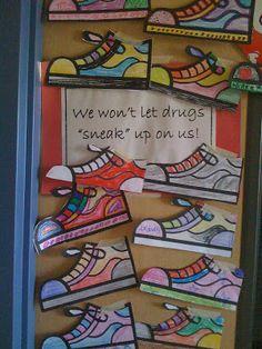 Crayon Bits - a first grade blog: Red Ribbon Week