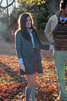 Plaid is Autumn's camouflage - Fall 2011