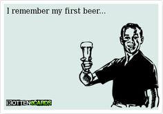 """Do you remember the first time you had some """"Damn Good Beer""""?  Minhas Craft Brewery has being brewing our beer since 1845!  Stop by and let us help you remember what it's like to have a beer for the first time!  #DamnGoodBeer"""