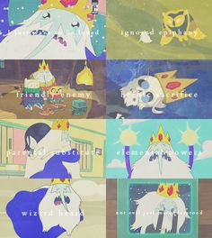 adventure time character tropes → Simon Petrikov Ice King
