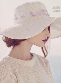 """Daisy, Daisy"": Aibe as Daisy Buchanan by Standa Merhout for Bazaar Arabia"