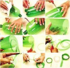 Cestos y cajas de plastico 2 - 08/10 Manualidades con botellas de plástico