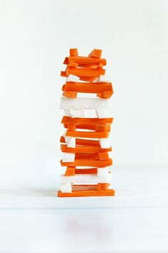 DIY Vegetable Jenga