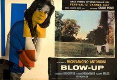 Posteritati: BLOW-UP (Blow Up) 1968 Italian 19x27