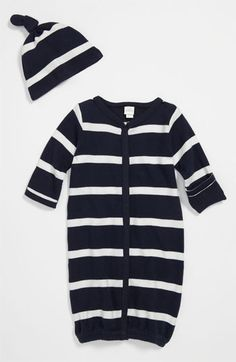 Nordstrom Baby Convertible Gown & Hat. Need a going home outfit for either boy or girl...