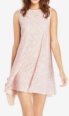 Glamorous Lace Swing Dress