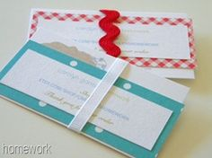homework: Inkling: pretty file folders {martha stewart paper} business cards