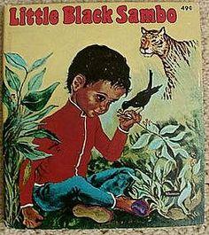 Near Mint 1959 Whitman Pub. Little Black Sambo Book