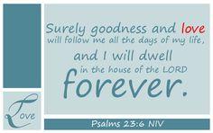 Psalms 23:6