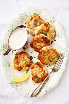 Crispy Potato Fish Cakes