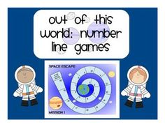 Number Line Games (Addition/Subtraction) FREE!