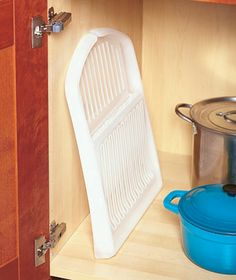 Fold-Away Dish Racks