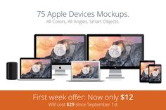 Check out Apple Responsive Mockups - Complete by Mockupstore on Creative Market
