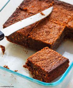 Healthy Flourless Peanut Butter Chocolate Brownies #GlutenFree
