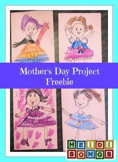 Heidi Songs Mother's Day Freebie