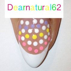 #NAILART Inspiration - A French w/a Twist by #Dearnatural62 #nailart #nails #mani #polish - For more nail looks or to share yours, go to bellashoot.com