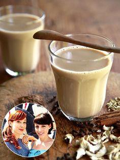 Alie & Georgia's Chai Fives Cocktail (Chai Latte + Rum!)