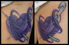 knitting needles, crochet humor, crochet hooks, heart shapes, crochet hearts, matching tattoos, crochet tattoo, a tattoo, heart tattoos