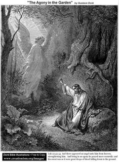 The Agony In The Garden by Gustave Dore