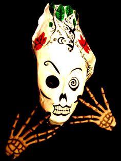 My day of the Dead Mask! ~Halloween Always. @Optivion #music #art #DiadeLosMuertos