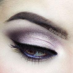 Soft Dramatic Eye purpl shadow, eye shadow, dates, makeup, dramatic eyes, beauti, date nights, pretti, hair