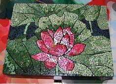 Egg shell mosaic!  AWESOME.
