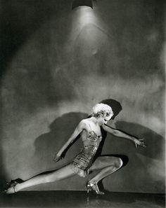 Dancer Jean Barry, 1931, photo by George Hoyningen-Huene