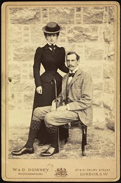 Queen Maud and King Haakon of Norway