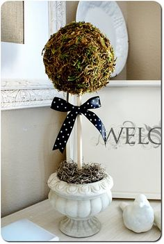 Love topiaries!