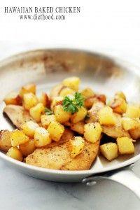 Hawaiian Baked Chicken Recipe | Diethood