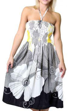 summer dresses, floral prints, sundress, color, cocktail dresses, tube dresscoverup, onesizefitsal tube, black floral, hot summer