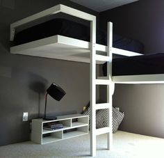 Contemporary loft beds
