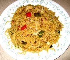 Spicy Chicken & Veggie Lo Mein (Phase 1)