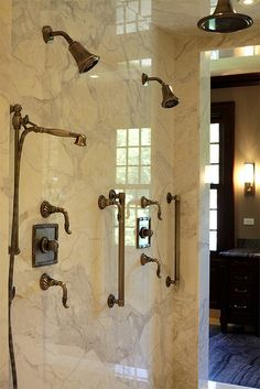 Walk-in shower for two
