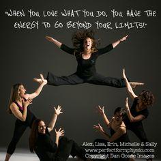 ENERGY! #quote #dance #motivation  www.theballetblog.com