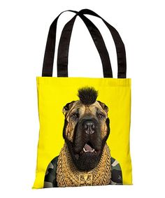 Take a look at this Fool Tote Bag by OneBellaCasa on #zulily today!